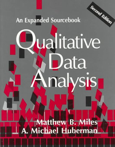 Qualitative Data Analysis: An Expanded Sourcebook(2nd Edition)